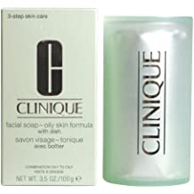 CLINIQUE FACIAL SOAP extra strength with dish oily skin 100 gr