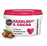 Hazelnut & Cocoa Nut Butter (500g) No Palm Oil, No Added Sugar, Dairy Free, Vegan, Chocolate Spread, Great Taste Award