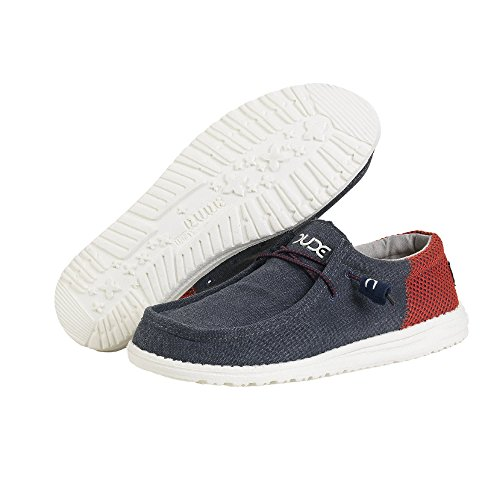 Dude Shoes ,  Herren Sneaker Low-Tops Blau