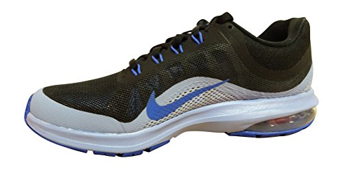 Nike Womens Air Max Dyansty 2 Running Trainers 852445 Sneakers Shoes (UK 7 US 9.5 EU 41, Black Medium Blue Aluminium 007)