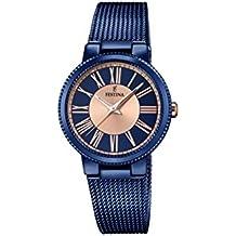 978cb588a8be Amazon.es  relojes festina mujer azul