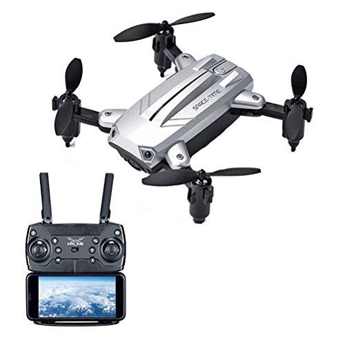 JEFFZH Drohne mit Kamera Live-Video, WiFi FPV RC Quadcopter mit 1080P HD-Kamera Faltbare Drohne für Anfänger - Höhenlage Headless-Modus Eine Taste aus/Landing-APP Steuerung Lange Flugzeit