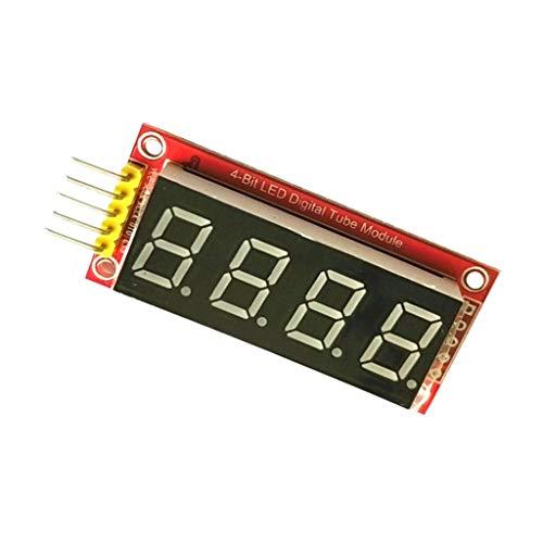 Almencla Stellig 7 Segment LED Display Modul Ht16k33 12C Für Arduino