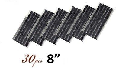 30-x-tubeless-tire-tyre-puncture-repair-kit-8-strips-plug-car-van-truck-bike