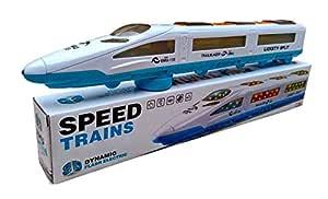 EMU Speed Train Trail Blazer with 3D Lights & Music for Kids