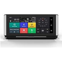 Navegador GPS, Grabador de conducción de automóviles DVR 1080P FHD, Mapas Mundiales de 2019