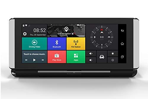 """GPS-Navigation, 1080P FHD DVR Autofahren Recorder, 2019 Weltkarten, der Beste Begleiter für Reisen, Camping, Abenteuer, 6.86"""" Park-Monitor, Loop Recording (C)"""