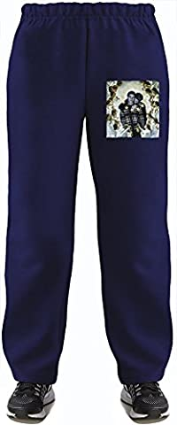 Boys Playground Super Soft Kids Lightweight Jog Pants by Benito Clothing - 80% Organic, Hypoallergenic Cotton & 20% Polyester - Casual & Sports Wear - Perfect Present 7-8 years