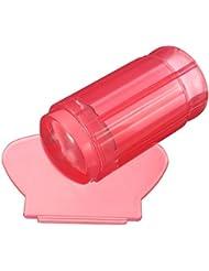 Uñas Sello Estampado Raspador Silicona Transparente Stamping Nail Art Manicura