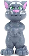 Azacus Intelligent Talking Tom, Learning & Speaking Toy for Kids (Grey)
