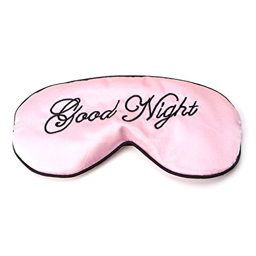 Schlafmaske, gepolstert, für Reisen, Entspannung, Augenbinde, 1 Stück rose