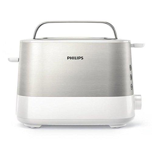 Philips HD2637 Toaster(7 Stufen, Brötchenaufsatz,...