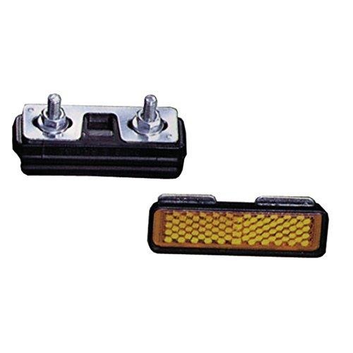 Pedal Reflektoren zum Schrauben Satz=4 Stück + 313702
