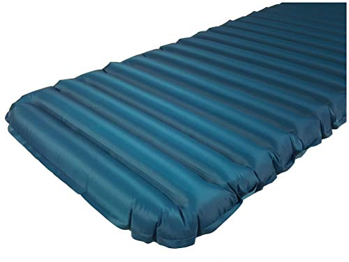 Frilufts ELPHIN AIR 6.0 mit Pumpsack - Isomatte Luftmatratze 650 Gram 196 x 63 x 7 cm blau