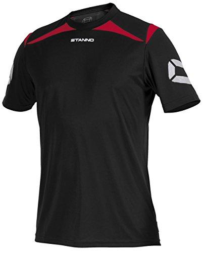 Stanno Forza T-Shirt - black-red, Größe Stanno:S