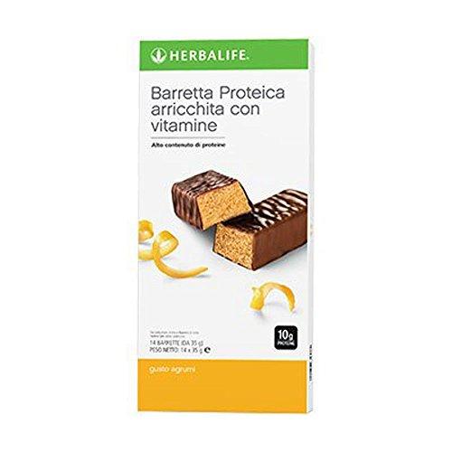 Herbalife Snack (Herbalife Protein Bars - Citrus Lemon (14 Bars per box) - 490g)