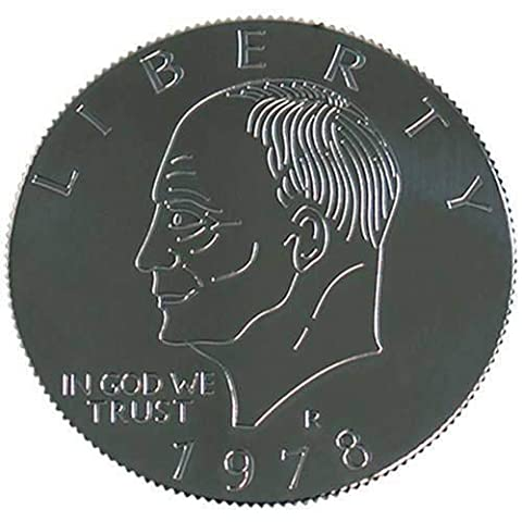 Eisenhower Palming Coin (Dollar Sized) by You Want it We Got it - Zauberei mit Geldstück - Zaubertricks und Magie