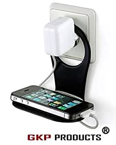 GKP Products ® Mobile Charging Wall Stand Shelf Holder For All Mobile Phones