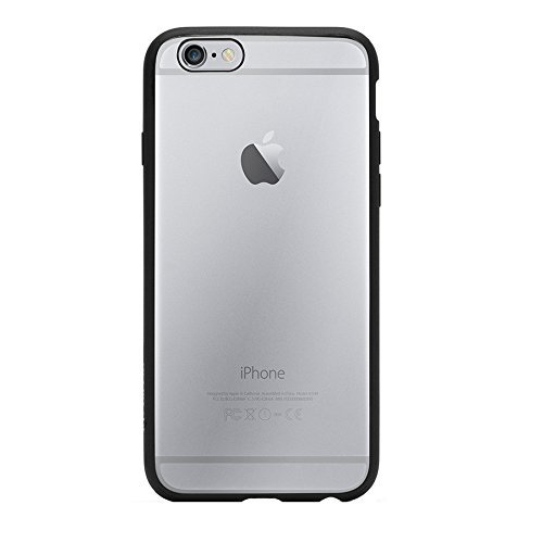 Griffin Reveal Case for iPhone 6 - Retail Packaging - Black/Clear  available at amazon for Rs.1779