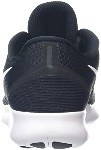 Nike Free Run, Chaussures de Running Compétition Femme Noir (Black/White/Anthracite)