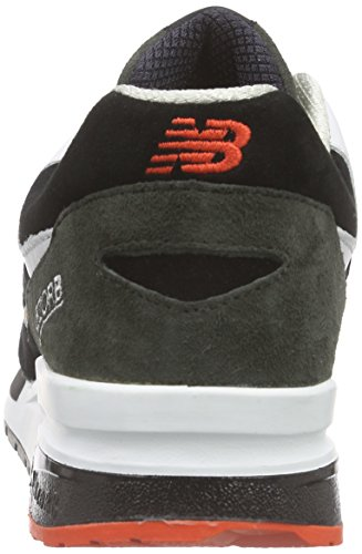 New Balance Herren Cw1600 Sneakers Mehrfarbig (Black/White/Red)