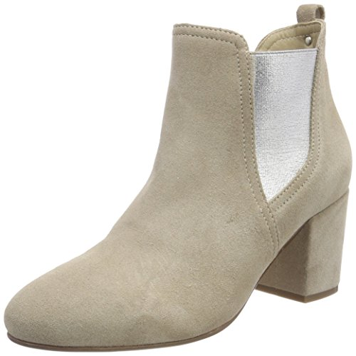 Marc O'Polo Damen Mid Heel Chelsea 80114175101300 Boots, Grau (Taupe), 36 EU