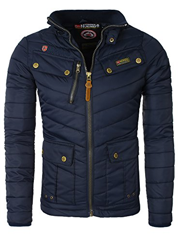 Geographical Norway - Doudoune Geographical Norway Argent Marine Marine