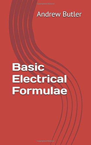 Basic Electrical Formulae