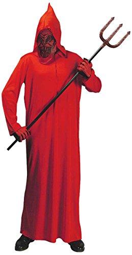 chsenenkostüm Teufel mit Kapuze, Größe L (Engel Oder Teufel Kostüme)