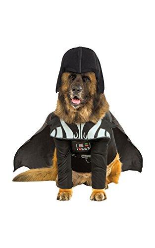 Rubies Star Wars Darth Vader Big Dog Costume XXL (Star Wars Dog Kostüm Xxl)