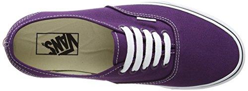 Vans Autentico, Unisex-erwachsene Sneakers Violett (prugna Viola / Tru Fse)