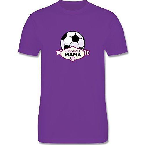 Fußball - Fußball Mama - Herren Premium T-Shirt Lila