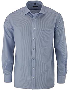 Eterna Herrenhemd Langarm Langarmhemd Baumwoll Hemd Baumwollhemd Herren Business Hemden Freizeithemd Comfort Fit...