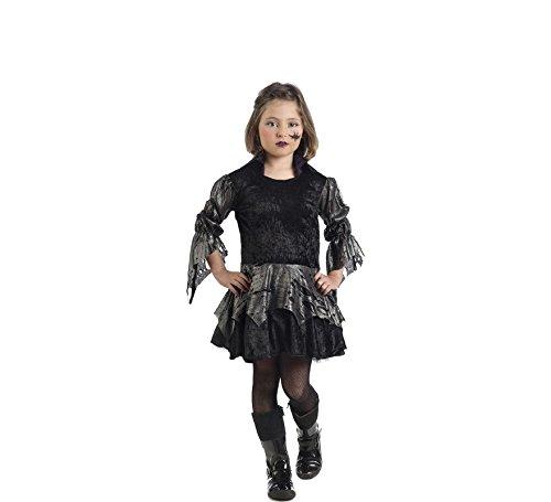 Imagen de disfraz de vampiresa carnilla negro para niña