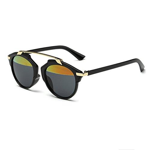 QHGstore Telaio Womens uomini datati occhiali da