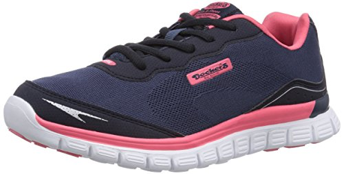 Dockers by Gerli 36VN20, Low-Top Sneaker donna Blu (Blau (navy/rot 667))