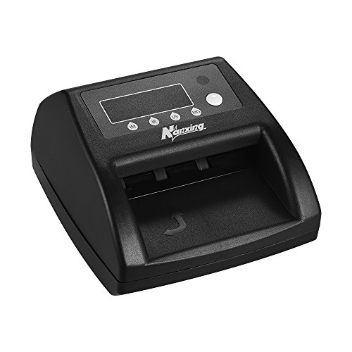 Aibecy Nanxing NX-125 Portable Euro Falschgeld-Detektor Gefälschte Bill Cash Banknote Währung Checker mit IM / IR / UV / MG Sensor LED-Anzeige