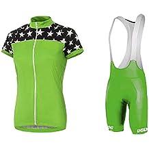 Uglyfrog Bike Wear De Manga Corto Maillot+Bib Pantalones cortos Ciclismo Mujer Bodies Tights with Gel Pad Summer Style 01