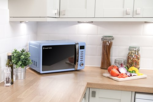 Russell Hobbs RHMD702BL 17 L Digital 700 Watt Pastel Blue Microwave