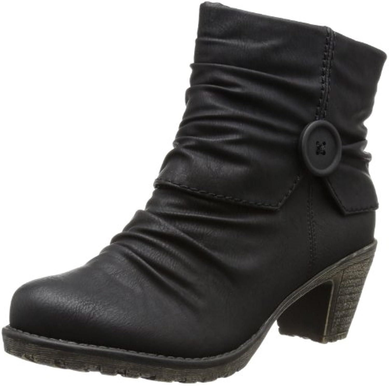 Rieker 91581-00 91581-00 - Botines fashion para mujer