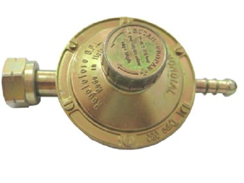 Vigor Blinky LP080T26-02A Regolatore Bassa Pressione 1 kb/h, Taratura regolabile 20/60 mbar, Attacco orizzontale