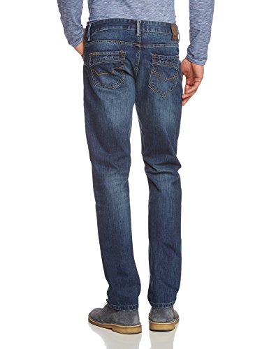 H.I.S Jeans Jeans Stanton - Jeans - Droit - Homme Bleu - Blau (dark sand blue 9607)