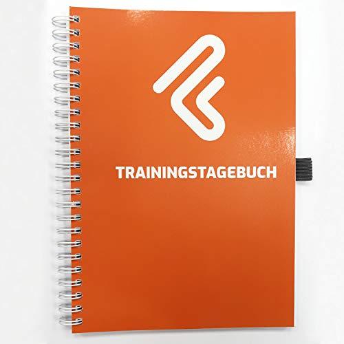 Trainingstagebuch DIN A5 für Krafttraining, Fitnessstudio, Bodybuilding & Cardio |132 Seiten -