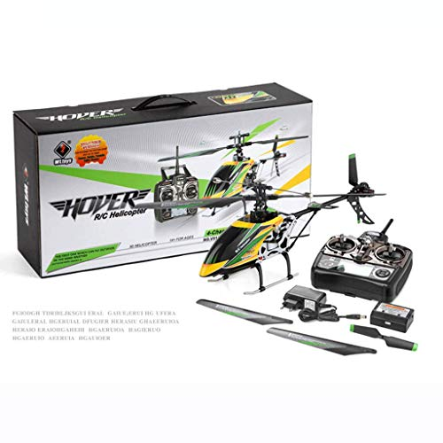 AXJJ Rc Helikopter RC Hubschrauber RTF 6CH Brushless LCD 3D / 6G Schaltsystem Niederspannungswarnsystem Brushless Flybarless RC Hubschrauber