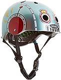 Nutcase Nutcase Kinder Street Malachite Helm, mehrfarbig (Tin Robot), XS