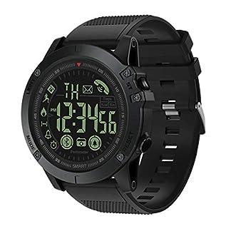 KLAYL Reloj Inteligente Bluetooth V4.0 Pulseras Inteligentes Deportes al Aire Libre Impermeable Largo Standby Reloj Inteligente Táctico Militar Cámara remota Reloj