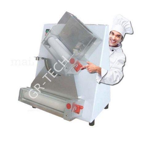 gr-tech Instrument® Automatische und elektrische Pizza Teig Roller/Zylinder Maschine Pizza macht Maschine 110V oder 220V (Pizza Teig Maschine)