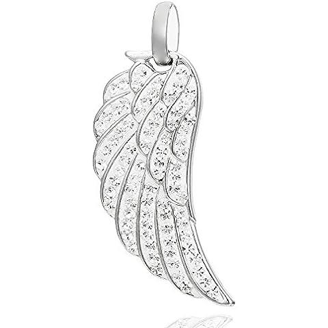 Morella colgante alas de ángel ÁNGEL DE Muelle con circonitas