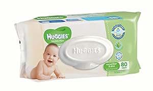 Huggies Baby Wipes (80 Wipes)