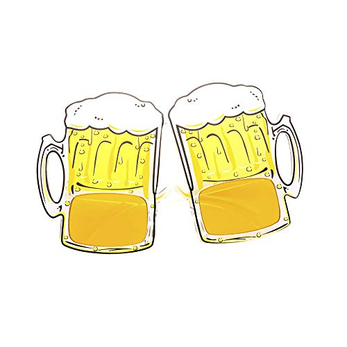 Widmann - Oktoberfestbrille Bierkrüge